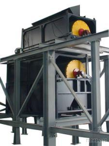 Dry Permanent Magnetic Drum Separator For Fine Ore