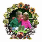 Round Shaped Picture Frame