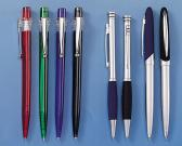 Novelty Promotional Click & Twist Plastic and Metal Ballpoint Pen