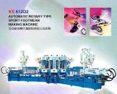 Automatic Rotary Type Sport Footwear Making Machine