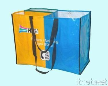 Woven Bag with Separator