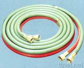 Twin Line Welding Hose with Brass Coupling