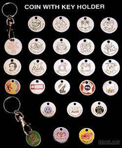 Coin with Key Holder