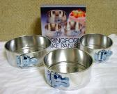 3 pcs Mini Springform Pan Set