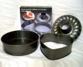 3 pcs Nonstick Cake Mould