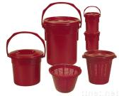 Recycled Bucket for Waste in Kitchen