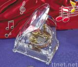 Crystal Music Ornaments