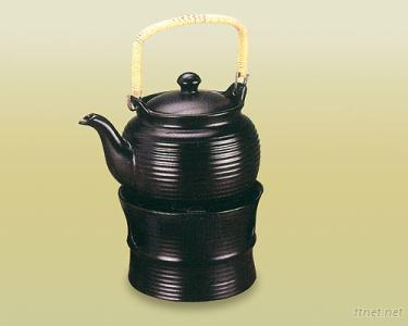 2L Ceramic Earth Tea Pot