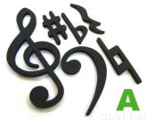 Magnetic Clefs & Notes Set (A)