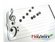 Magnetic Music Board