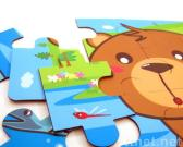 Magnetic Animals Puzzle (bear & monkey)
