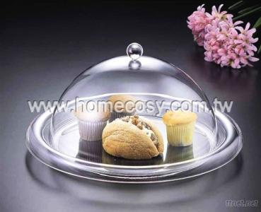 Round Tray w/Cover