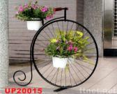 Wheel-shaped Flower Stand