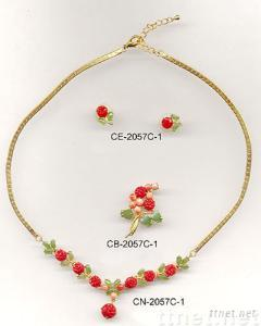 Coral Jewelry Sets