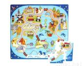 81-pieces around world foam puzzle mat