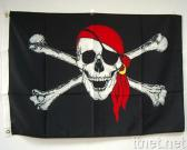 2' x 3' Red Scarf Pirate