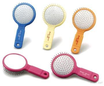 Brush and Mirror (Colored Handle)