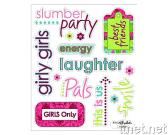 Girl Teen Stickers