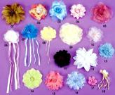 Tassel Frogs (Flower Embellishment/Sequine Flower)