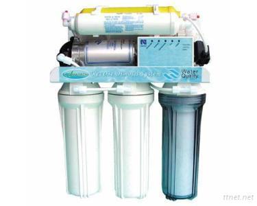 Reverse Osmosis System with Booster Pump