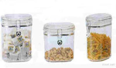 Oval Shape Air-tight Canister