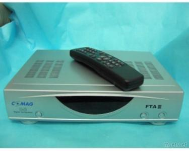 Digital Satellite Receiver with Video and Audio Decoders