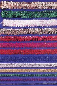Elastic and Stretch Sequin Band