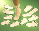 Girl's Lace Socks