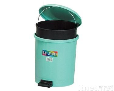 Foot-operated Trash Bin (W/Container)
