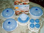 Magk Lids/Color Changing Microwave Set