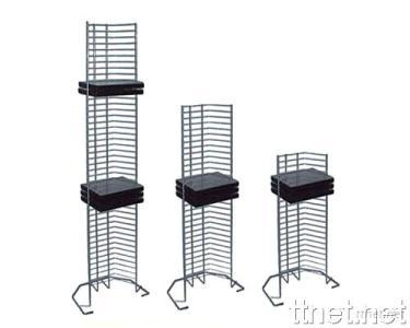 Metal CD Tower for 64/30/20 CDs