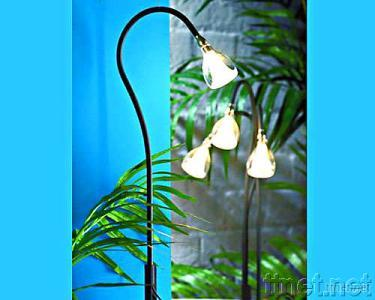 Fluted Snowdrop Lamp