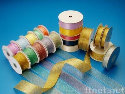 Ribbon with Woven Edge