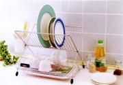 Foldable Dinnerware Rack