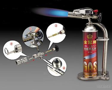 Auto-Ignition Blow Torch