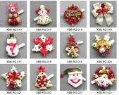 Christmas Flashing Sequin Brooches