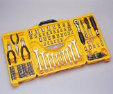 110 pcs 1/4 inch and 3/8 inch Dr. Combination Tool Set