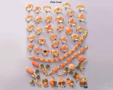 Pink Coral Jewelry