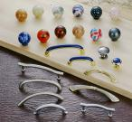 Plastic and Zinc Alloy Pull and Knob