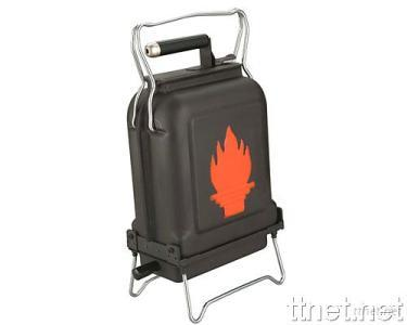 Portable BBQ Grill with Carry Handle