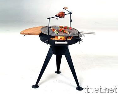 Promotional BBQ Grill with Roast Chicken Racket