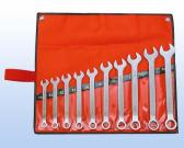 10 pcs Stainless Combination Wrench