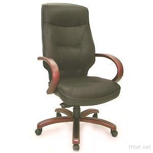 Hi-Back Leather Office Chair