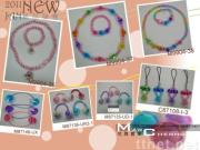 Kids-Acrylic Bracelets, Hair Ring