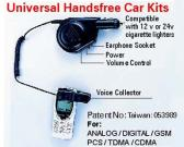 Universal Hands Free Car Kit