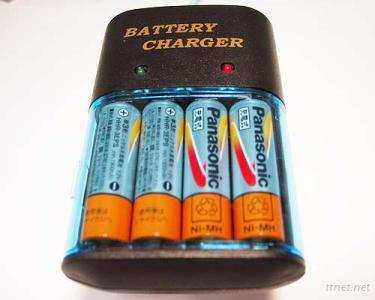 Rechargeable Batteries and Batteries Charger