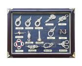 Knot Board and Shadow Box