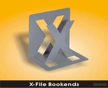 X-file Bookends