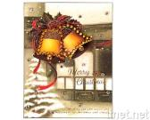 Crystal Deco. Sticker-greeting Card