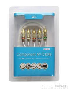 Wii Component AV Cable(video game accessories)